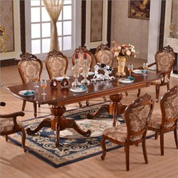 Italian Style Tables Australia - Modern Style Italian Dining Table, 100% Solid Wood Italy Style Luxury Dining Table o1132