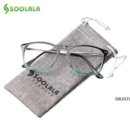 half frames reading glasses UK - Oversized Womens Mens Full Rimmed Reading Glasses Large Horn Clear Lens Eyeglass Frame Reading Glass +0.5 1.5 2.5 to 4.0 MX200527DR3571