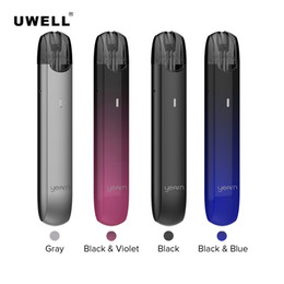 system pen Canada - UWELL YEARN Pod System Built-in 370mAh 11W Pen Battery Draw-activated Design for Pre-filled Yearn Pod Cartridge 100% Genuine