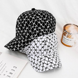 $enCountryForm.capitalKeyWord NZ - Hat Summer Korean-Style Square Baseball Hat College Style Hip Hop Fashion Leisure Sun Baseball Cap Cool Adjustable
