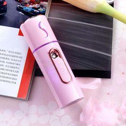$enCountryForm.capitalKeyWord Australia - new Portable sprayer mini face steamer USB charging power humidifier 35ML travel Hydrating beauty machine Facial Steamer
