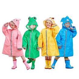 Unisex Clothing New Team Childrens Frog Boy Girl Raincoat Size 4 Waterproof Australian Designed