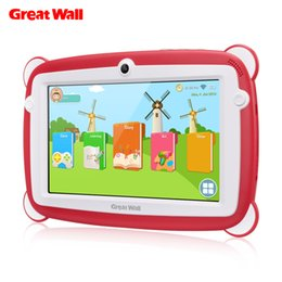 $enCountryForm.capitalKeyWord UK - Great Wall K701 Kid Education Tablets PC 7'' 1024*600 IPS Android 8.1 IPS RK3126C Quad-core 1GB 8GB Dual Cam WIFI BT Tablets