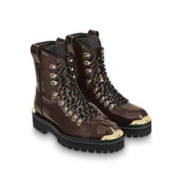 Diseñador Botas para hombre Para mujer Plataforma Star Trail Botas del desierto Marcas de lujo Outland Negro Marrón Botas Martin Botas de nieve de invierno Zapatos de trabajo