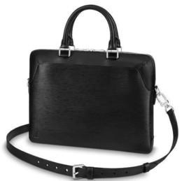 $enCountryForm.capitalKeyWord Australia - 2019 M51689 OLIVER BRIEFCASE FASHION MEN BLACK Real Caviar Lambskin Le Boy Chain Flap Bag HANDBAGS SHOULDER MESSENGER BAGS TOTES