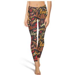 $enCountryForm.capitalKeyWord UK - Halloween string Color English yoga pants High waist yoga pants Womens Gym yoga pants quick-drying Run tights long Leggings Black