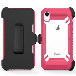 44af250f11 For Iphone Xs Max Case Newest Design Layer Shockproof Full-Body Rugged Hard  PC Soft TPU Protection Cover with Clip For iphone Xr