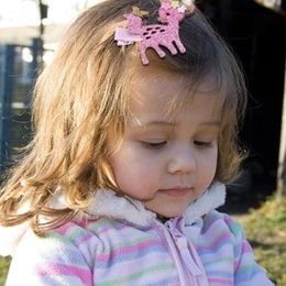 $enCountryForm.capitalKeyWord Australia - Cute Kids Hair Clips Glitter Sequins Girls Hairpins Children Barrettes Hairgrips Princess Baby Party Headwear Glitter