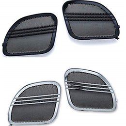 $enCountryForm.capitalKeyWord NZ - Motorcycle Tri Line Speaker Grills Covers Accents For Harley Road Glide 2015-2018