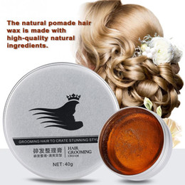 $enCountryForm.capitalKeyWord Australia - Pomades & Waxes 30ml Natural Wax Water Based Fluffy Styling Pomade Hair Modeling Wax For Men Women Hair Gel Styling