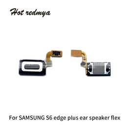Speaker Ear Australia - 10pcs For Samsung Galaxy S6 G920 S6 Edge G925 S6 Edge Plus G928 Ear Piece Speaker Flex Cable Earpiece Speaker Sound Microphone Parts