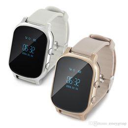 $enCountryForm.capitalKeyWord Australia - GPS Tracker Smart Watch T58 for Kids Children GPS Bracelet Google Map Sos Button Tracker Gsm GPS Locator Clock Smartwatch