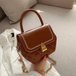 $enCountryForm.capitalKeyWord Australia - High quality joker lock diagonal cross bag fashionable diamond mesh hand shoulder bag