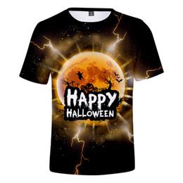 2bd58e25f09e0 2019 Hot Sale 3d Halloween T Shirt Men women Fashion Short Sleeve Harajuku  3d Print Halloween Summer Men's T Shirt Clothes Top