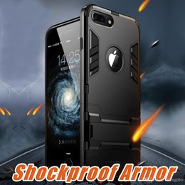 Coque Iphone Luxury NZ - Shockproof Armor Phone Case For Apple iphone X 8 7 Plus Luxury TPU Protective Hard Cases For iphone 6 6s Plus 5 5s Coque