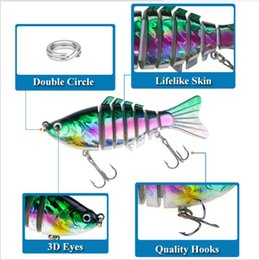 $enCountryForm.capitalKeyWord Australia - Outdoor Fishing 10cm Classic Lure Bait Plastic Hard Bait 15.6g With Packaging 7 Section Multi-Section Fish Bionic Bait HS001