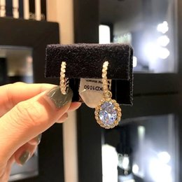 Steel Austria Australia - earring Ladies accessories New diamond jewelry goddess sterling silver Small earings for Austria crystal gold plated filled stud perfect