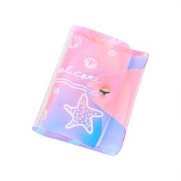 $enCountryForm.capitalKeyWord UK - Shiny Women Card Holder Wallet Id Holders Female Student Cardholder For Lolita Cute Star Transparent Laser Bank Credit Card Case