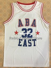 $enCountryForm.capitalKeyWord Australia - #32 JULIUS ERVING ABA EAST Basketball Jersey White red Custom any Number and name Jerseys XS-6XL vest Jerseys NCAA