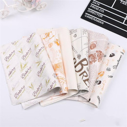 Wholesale Western Point Papers Hamburger Chicken Rolls Paper Baking Package Paper Cake Roll Grease Proof Paper Exquisite Home 5 7pc k1