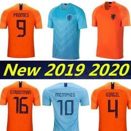 83e71f7bf6a New 2019 Netherlands European Cup jerseys DE JONG VIRGIL PROMES MEMPHIS  Football shirts 19 20 Holland National Team home away Soccer Jerseys