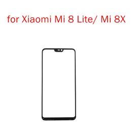 $enCountryForm.capitalKeyWord Australia - for Xiaomi Mi 8 Lite  8X Touch Screen Glass Sensor Panel Front Glass Panel Digitizer Touchpad for Mi 8Lite LRepair Spare Parts