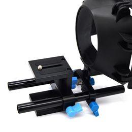 Discount railing mount bracket - 15mm Rail Rod Support System DSLR Camera Mount Baseplate Guide Bracket for Follow Focus Matte Box DJA99