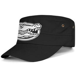 $enCountryForm.capitalKeyWord UK - Florida Gators football white logo Black Men Women Military Fitted Cadet Cap Army Cap Tactical Hat Flat Cap Student Military Hat Baseba