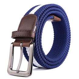 $enCountryForm.capitalKeyWord Australia - D004 Design belt high quality canvas mens belt yellow black white homme belts ladies brand waistband 200 cm free shipping