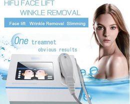 ultrasound skin machine 2019 - 2019 Portable Home Use HIFU 10000 Shots Wrinkle Removal Face Skin Care Machine Focused Ultrasound Hifu Face Lift Machine