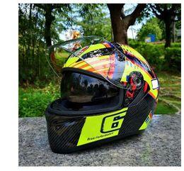 $enCountryForm.capitalKeyWord NZ - Double Visor helmet Men's Full Face Motocross Helmet Strong Resistance Protective Headgear Racing Helmets