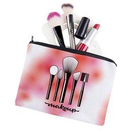 $enCountryForm.capitalKeyWord Australia - 2019 new printed cosmetic brush supplies square cosmetic bag storage bag travel portable ladies hand