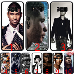 a6 phone NZ - Usher Raymond IV Soft Silicone Black TPU Phone Case for Samsung A3 A5 2016 2017 A6 Plus 2018 Cover