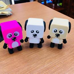 $enCountryForm.capitalKeyWord Australia - Hot sale Dancing Dog Bluetooth Speaker Portable Wireless Stereo Music Player Loudspeaker For iphone X 8plus 7plus Samsung With Retail Box