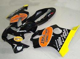 Honda F4 Yellow Australia - New Injection mold ABS Fairings Set for HONDA CBR600F4 99-00 CBR 600 F4 FS CBR600FS CBR 600F4 F4 99 00 1999 2000 Cool style yellow black