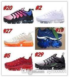 $enCountryForm.capitalKeyWord Australia - tn plus yellow running shoes mens trainers women cushion sneakers new 2019 black white red cool grey blue pink light shoes with box z4