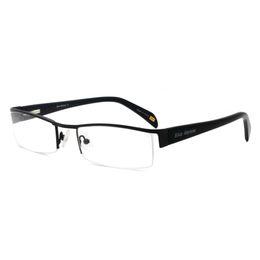 $enCountryForm.capitalKeyWord UK - Classics Metal Half rim Rectangle Shape Eyewear Acetate Temples Spring Hinge Wholesale Price Free Shipping SM4018