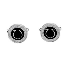 $enCountryForm.capitalKeyWord UK - Fashion Dazzle Tuxedo Shirts Platinum Plated Cufflinks Initial Letter U