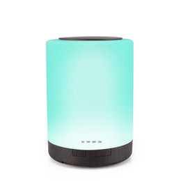 China 300ml Ultrasonic Cool Mist Air Humidifier Aroma Mist Maker Fragrance Sprayer Essential Oil Diffuser with 7 Colors Changed LED Night Light suppliers