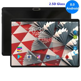 Discount tablets 3g dual core - Tablet 10 inch WiFi Octa Core 4GB RAM 64GB ROM 1280X800 2.5D IPS Screen Dual SIM Cards Android 8.0 Google 3G 4G FDD LTE