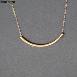 beat jewelry 2020 - Women Tiny Necklace Street Beat The Simple Gold Chain Necklace Jewelry Dainty Female cheap beat jewelry