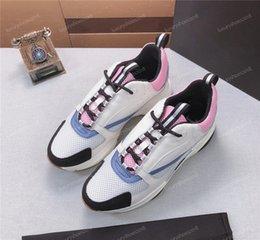 2019 Designer New Haute Qualité B22 Femmes Hommes Français Designer Français Marque Casual Chaussures Toile Mesh Up B22 Formateurs Tennis Chaussures Femmes Sneakers1 en Solde