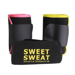 $enCountryForm.capitalKeyWord Australia - 20pcs Weght loss belt Sweet Sweat Premium Waist Trimmer Men Women Belt Slimmer Exercise Ab Waist Wrap with box