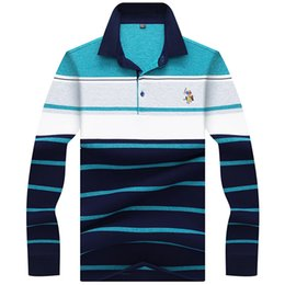$enCountryForm.capitalKeyWord UK - Jungle Zone Brand Men's Clothing 2019 New High Quality Embroidery Men Long Sleeve Polo Shirt Striped Polos 8863 C19041501
