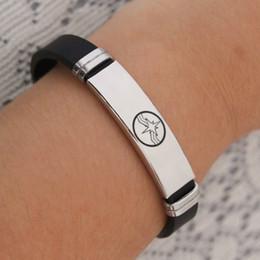 $enCountryForm.capitalKeyWord Australia - Canuomen Captain Marvel Bracelet Superhero Logo Stainless Steel Bracelets Gifts for Boys Silicone Bracelet Jewelry C3
