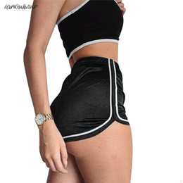 $enCountryForm.capitalKeyWord Australia - Skinny,Slim Waisted High Ladies Silk Shorts Summer Slim Fit Elastic Booty Shorts For Women Hot Sexy Pole Dance Femme Pantalon Shorts