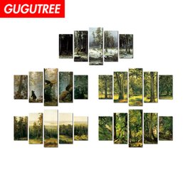 $enCountryForm.capitalKeyWord Australia - Decorate home 3D forest scenery cartoon art wall sticker decoration Decals mural painting Removable Decor Wallpaper G-2453