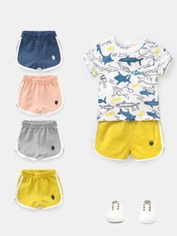 $enCountryForm.capitalKeyWord NZ - 2019 European and American spring and summer boys sports shorts hot pants children's clothing new small children's tide thin section