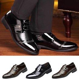 $enCountryForm.capitalKeyWord Australia - ONTO-MATO Fashion Business Dress Men Shoes 2019 New Classic Leather Men'S Suits Shoes Fashion Slip On Dress Men Oxfords