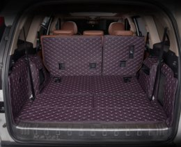 car boot liners UK - for great wall haval H9 leather car trunk mat cargo liner 2015 2016 2017 2018 2019 rug carpet boot luggage